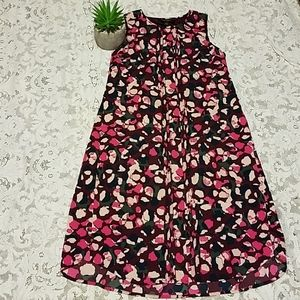 Banana Republic Pink Multi color Dress 00